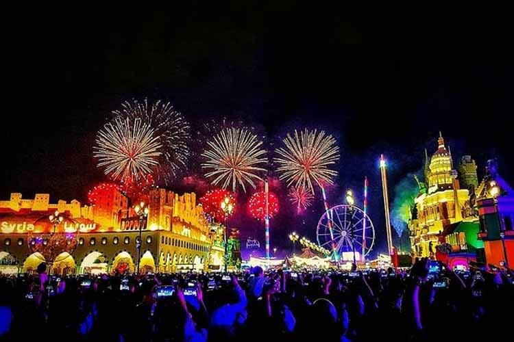 Dubai Fireworks - Global Village