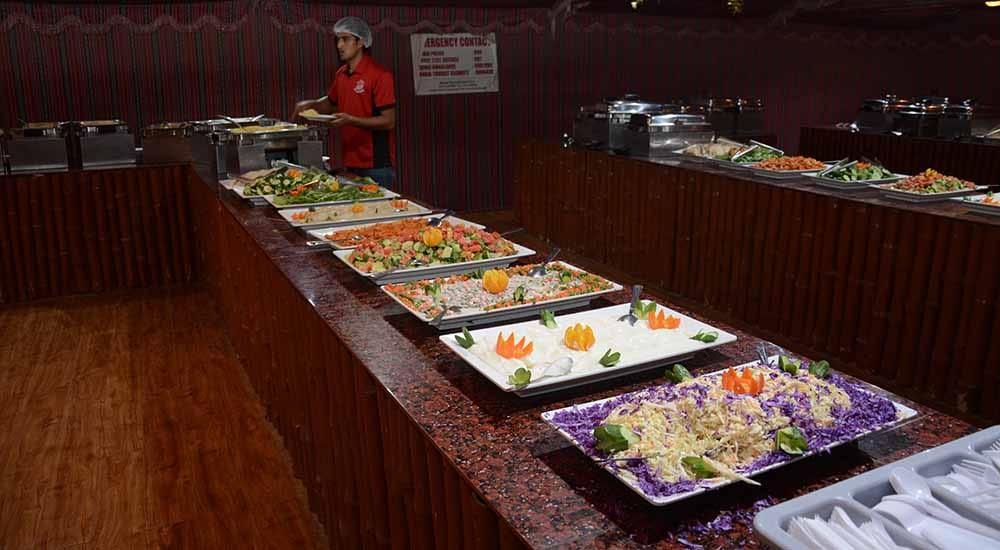 bbq dinner at dubai desert