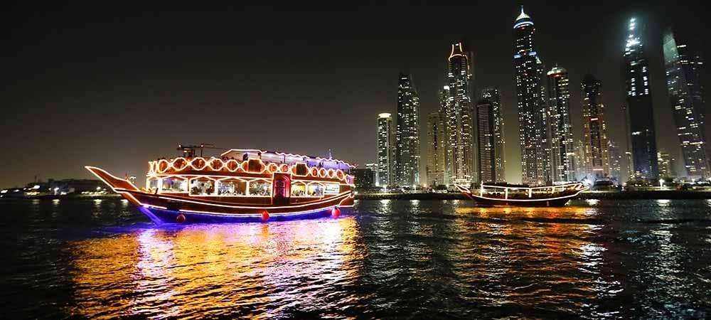 dhow cruise dubai tour